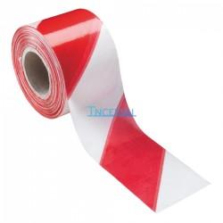 Cinta de señalización roja/blanca