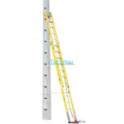 Escalera doble tramo fachada/postes Arisafe-4