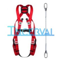 Arnes MIRA 16 con cuerda fija y mosq.