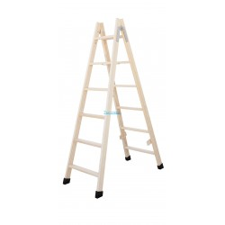 Escalera madera de tijera